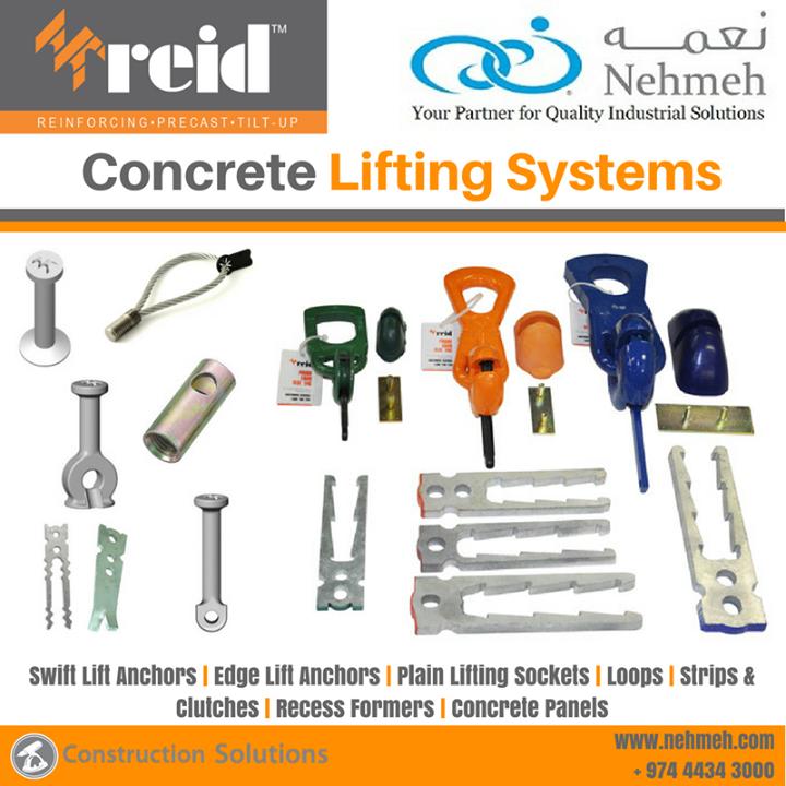 Reid Concrete Lifting Systems Qatar – Nehmeh