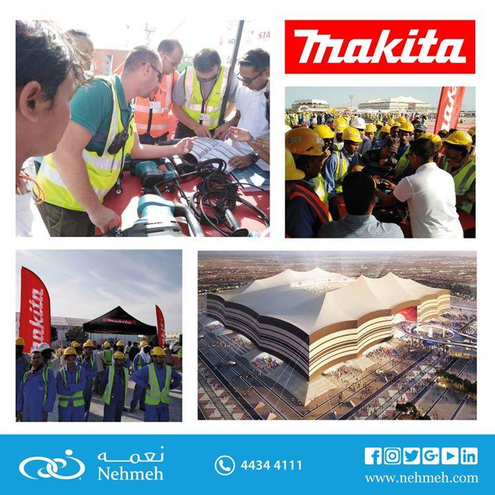 Makita Power Tools @ Al Bayt Stadium for 2022 – Nehmeh